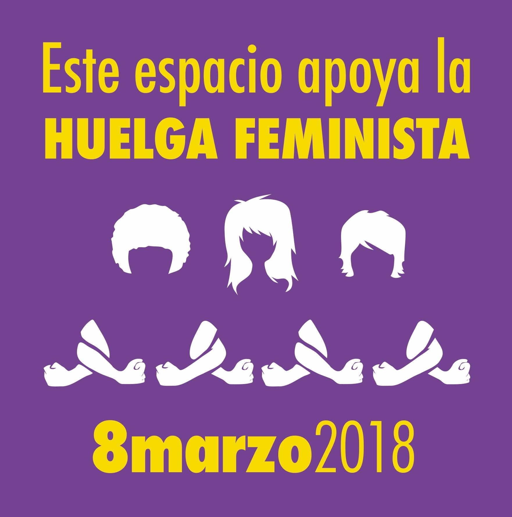 Apoyamos la huelga feminista 8M