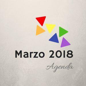 Agenda de marzo 2018
