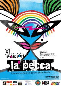 El Teatro Alameda acogerá el 5 de mayo el certamen de cortos de La Pecca
